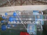 큰 크기 PVC 판매를 위한 팽창식 명확한 물병