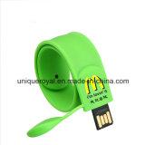 Braccialetto sottile di schiaffo del USB di Hotselling