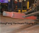 Exakter maschinell bearbeitender legierter Stahl, der zentrale Welle schmiedet