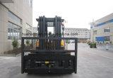 chariot 7.0Ton gerbeur diesel avec le mât 4.5Meter triple (HH70Z-N6-D, pneus solides)