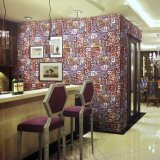 2017 Fabrikanten van het Document van de Muur van pvc van de Decoratie van het Huis Guangzhou de Vinyl 3D