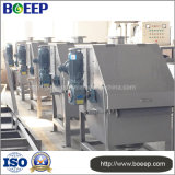 Screen Gap 0.25-2.5mm Rotary Drum Filter Press in Water Treatment