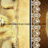 o frame Pigment&Disperse do leão 100%Polyester imprimiu a tela para o jogo do fundamento