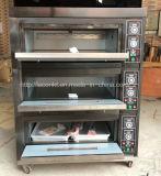 Forno elettrico della pizza dei cassetti delle piattaforme 6 dell'annuncio pubblicitario 3 per il forno