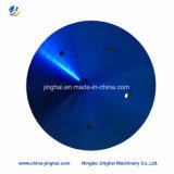 Kundenspezifische PolierEdelstahl-runde Handlauf-Deckplatte