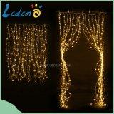 LED Curtain Copper Light 700LED para decoração de janelas