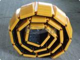 黄色いカラー交通安全のプラスチック携帯用速度のこぶ