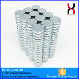 Magnete sinterizzato neodimio di alta qualità 6*3mm NdFeB