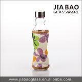 honig-Flaschenglas des Gewebe-500ml dekoratives Natronkalk