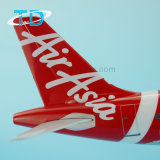 Modello rapido dell'aereo della scala di promozione A320 Taylor 36.7cm