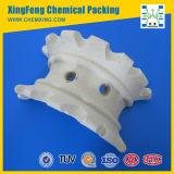 Eficiencia de transferencia de masa Ceramic Super Intalox Saddle Ring