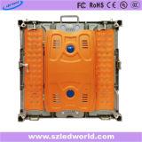P3, tarjeta de pantalla electrónica de fundición a presión a troquel a todo color de alquiler de interior del indicador digital de P6 LED para hacer publicidad