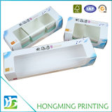 Коробка еды картона окна PVC офсетной печати белая