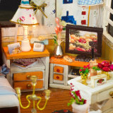Het grappige het Assembleren Model Houten Stuk speelgoed van het Huis