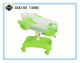 (A-150) Carro de bebé verde de lujo del ABS