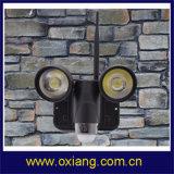 Maak 5.0 Camera van kabeltelevisie van de Camera Zr720 van de Veiligheid van de Sensor van WiFi PIR van de Visie van de Nacht van de Motie van het PARLEMENTSLID de Lichte Draadloze met 2 PCs van LEIDENE Lichten waterdicht