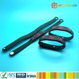 Wristband classico del braccialetto NFC di ginnastica MIFARE 1k RFID di forma fisica di WaterPark