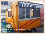 Carrello dell'alimento del triciclo di Ys-Et175c con la finestra ed il baldacchino di scivolamento di vetro