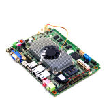 Широкое напряжение тока DC9-36V удваивает материнская плата LAN Aio с обработчиком Intel N2800