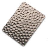 304 PVD überzogenes gestempeltes Edelstahl-Titanblatt für dekorative konkave Oberfläche