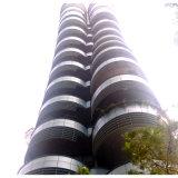 商業建物の装飾のためのカーブのアルミニウムパネル