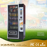 De MiniAutomaat van het fruit en van de Drank met de Acceptor van het Muntstuk