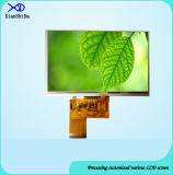 Pantalla LCD de alta definición de 5 pulgadas TFT con panel táctil resistiva