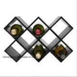 La casella di memoria di cuoio Handmade esclusiva del vino progetta