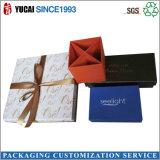Caja de regalo recientemente diseñada del papel de la caja del collar para la joyería