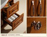 Vanidad determinada de madera de la cabina de cuarto de baño de Soild