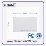 Trabajo de la tarjeta del PVC de RFID con el programa de lectura (SD5)