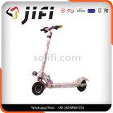 Scooter elétrico sem escova com movimentação de motor elétrico sem rodas de 2 rodas Scooter de pé