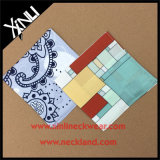 Quadrato Pocket su ordinazione del fazzoletto di seta della stampa di 100% per gli uomini