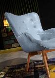 Moderner lederner Wohnzimmer-Stuhl