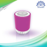 Altavoz portable bajo estupendo de Bluetooth de la lámpara colorida del cambio LED mini