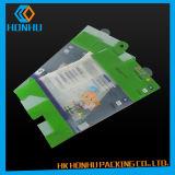 Plásticos de la impresión de encargo de la ropa interior de las cajas de embalaje