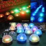 luz mágica da esfera do diodo emissor de luz do DJ do estágio 6X3with3X3w