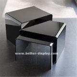 Tavolino da salotto bianco acrilico (BTR-Q1022)