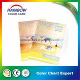 二重側面の乳剤のコーティングのカラー・チャートのカード