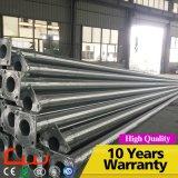 Q235 via d'acciaio di galvanizzazione di 6m e di spruzzatura calda palo chiaro