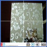Migliore vetro di vetro architettonico glassato della stanza da bagno di arte inciso di prezzi acido decorativo
