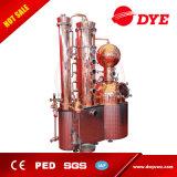 中国製1000L高品質ビール銅は蒸留酒製造所装置を静める