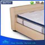 Modèle parfait résilient de dessus de cadre du matelas 28cm de sommeil d'OEM avec de la mousse de mémoire de gel et la mousse d'onde de massage