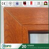 Indicador de madeira da inclinação e da volta da vitrificação dobro da cor de UPVC/PVC para o edifício