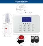 Sistema de alarma del G/M del control del teléfono celular de la pantalla táctil del precio de fábrica