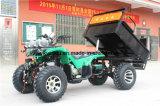 4 눈 타이어 10/12inch를 가진 맨 위 램프 농장 ATV