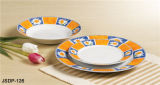 El mejor conjunto de cena de la porcelana de la venta 18PCS