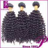 Vente en gros brésilienne bouclée de cheveux humains de l'armure 100% de cheveux de Vierge