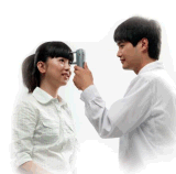 Rebote Tonometer de Digitaces con menos contacto
