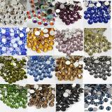 도매 못 훈장 사용 수정같은 모조 다이아몬드 Ab 색깔 구슬